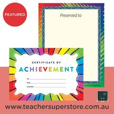 FEATURED: Merit Certificates & Bookplates Celebrate student success and reward student achievements and progress for 2020 with our range of merit certificates and bookplates. Available in both quality paper and card packs. View the range through our online store.