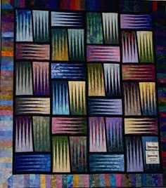 Stepping Stones ~ Quiltworx.com, made by Certified Instructor, Roger Kerr