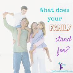 """Have you ever wondered """"what does my family stand for?"""" Find out 3 tools you can use to create a statement of purpose and discover your core family values."""