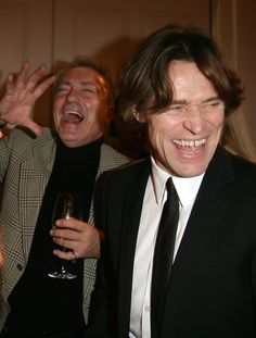 Udo Kier and Willem Dafoe - Berlinale 2008 - Fireflies In The Garden - After Party