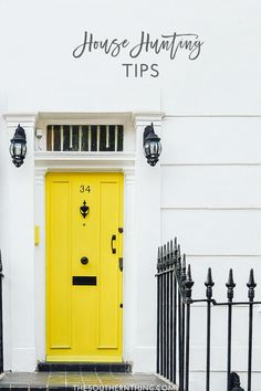 House Hunting Tips : Tips for Starting the House Hunting Process