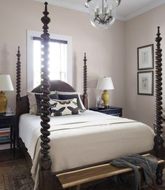 Dreaming of a Four Post Bed | Kate Collins Interiors