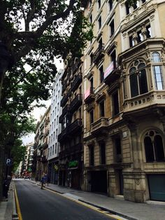 Architecture of Barcelona buildings