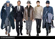 New York Look: Fall 2008 - A Mix of Men's Trends -- New York Magazine Fashion Coverage