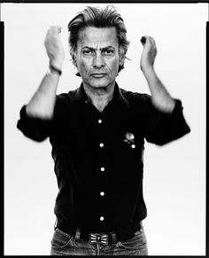 Richard Avedon, self-portrait, Photographer, Provo, Utah, August 20, 1980 by cabaroc, via Flickr