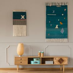"""Wall hangings from """"Kilims from Poland"""" collection by Tartaruga. Made of recycled wool. Handmade in Poland. Recycled Yarn, Recycled Materials, Modern Carpet, Modern Rugs, Living Room Inspiration, Sustainable Design, Boho Decor, Hand Weaving, Wall Decor"""