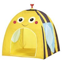 This would be an ADORABLE tent for the bee classroom theme!