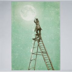 Waning Moon Art Print by Eric Fan from Saved to Prints. Shop more products from on Wanelo. Claude Monet, Vincent Van Gogh, Framed Art Prints, Poster Prints, Posters, Steampunk Artwork, Mystic Moon, Thing 1, Moon Print