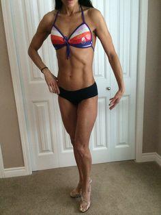 NPAA two weeks fitness model fuelled by Herbalife :)