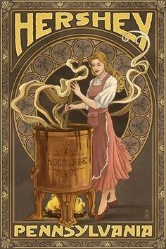 Hershey Pennsylvania a chocolate lovers delight! Lantern Press