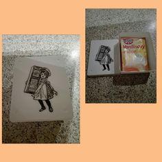 Krabička na Vanilkový cukor a kypriaci prášok :)