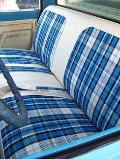 Reapolstered Factory Bench Seat 1967 72 Ford F Series