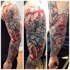 english knight tattoo - Google Search