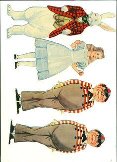 For a Mad Tea Party - Alice in wonderland 1933 - Bobe Green - Picasa Web Albums Alice In Wonderland Tea Party, Bobe, Illustration, Mad Hatter Tea, Adventures In Wonderland, Vintage Paper Dolls, Paper Toys, Altered Art, Paper Art