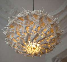 FALL OF THE DAMNED SUSPENSION LIGHT BY LUC MERX