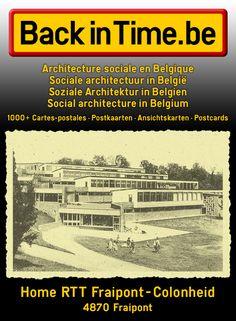 Home RTT Fraipont-Colonheid Rue Trasenster 34 | 4870 Fraipont  Architecture sociale en Belgique Sociale architectuur in België Soziale Architektur in Belgien Social architecture in Belgium
