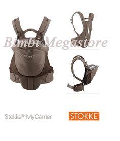 stokke my carrier marsupio brown 0mesi