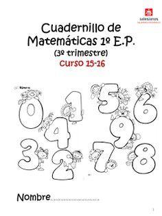 Aquí tenéis el libro que la profe matemáticas os ha hecho para este tercer trimestre. Los papás y mamás ya pueden imprimirlo directament...