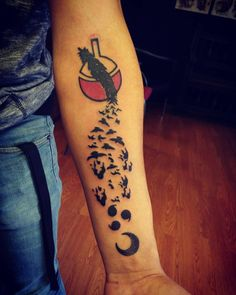 45 Fabulous Naruto Tattoo Designs - Dream Big and Be Hokage Bird Tattoos Arm, Sun Tattoos, Anime Tattoos, Temporary Tattoos, Body Art Tattoos, Tribal Tattoos, Tatoos, Nerd Tattoos, Forearm Tattoos