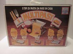 Multipast Marcato Atlas 5 Pasta Maker Machine Lasagne Ravioli Spaghetti  #Marcato