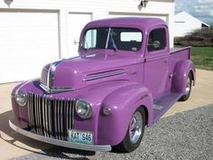 1946 Ford Pickup Truck | Amazing Classic Cars  This is so awesome. Old truck and my fave color! A girl can dream.
