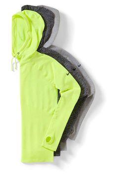 Nike Pro Hoodies | Nike workout gear | Fitness Apparel For Women http://www.FitnessGirlApparel.com