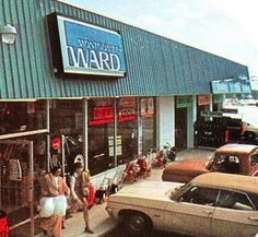 Montgomery Ward. Shopping there with my parents and having to look through the appliances for hours.