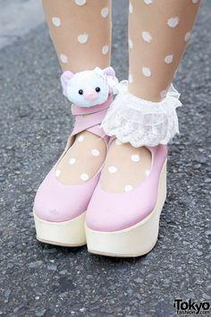 Tokyo Bopper Shoes & Cute Anklets