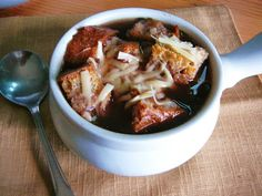 Eighty Twenty: 80-- Lighter French Onion Soup