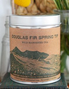 Favorite Tea: Douglas Fir Spring Tip from Juniper Ridge Caffeine Free Tea, Most Popular Drinks, Douglas Fir, Green Life, Cooking With Kids, Baking Ingredients, Candle Jars, Whole Food Recipes, Tea Time