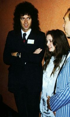 Brian May and wife Chrissie. Freddie Mercury, John Deacon, Adam Lambert, Brian's Song, Arena Rock, Queen Brian May, Roger Taylor, Queen Band, Killer Queen