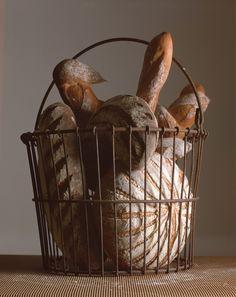Breads by Payard, excellent. #Bread Basket # wicker Basket #Basket
