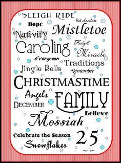 35+ FREE Christmas Printables!