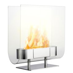 Iittala Fireplace. The Finnish designer Ilkka Suppanen (b. 1968) studied architecture at the Helsinki University of Technology and interior architecture and furniture design at the University of Arts and Design. He completed his design studies at the Rietveld Academy, Amsterdam, in 1992.