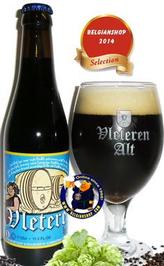Our New Beer: Vleteren Bruin 12° Oak Barrel Aged A DREAM!!! Pours a very dark brown coloured beer, with a light beige head on top, almost two fingers in size, thick enough, with average retention and light lacing left on the glass. Aroma is dried fruit, honeyed caramel, light grape and port notes, vanilla, dark rum soaked bread, drier barrel elements. .... Available online at http://store.belgianshop.com/special-beers/1481-vleteren-bruin-12-oak-barrel-aged-13l.html