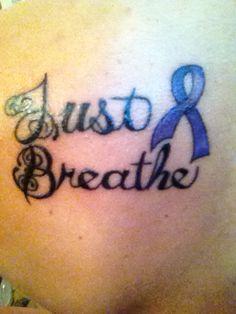 Cystic fibrosis tattoo. My disease tattoo love this