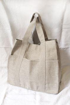 Fog Linen Tote Bag