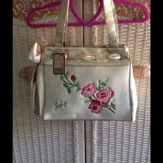 Juicy Couture Handbag NWT  Cream with gold.  Beautiful! Juicy Couture Bags