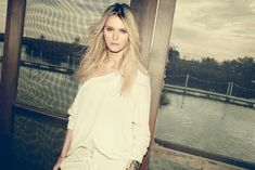 carmen kass arnaud pyvka12 Golden Girl: Carmen Kass Shines in Vogue Travel Shoot by Arnaud Pyvka