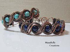 TUTORIAL  Double Twisted Wire Weave Bracelet by MaxxBelleCreations