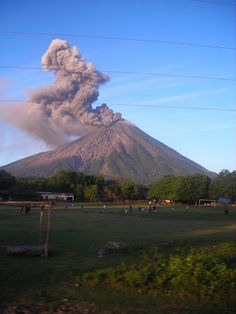 The Concepcion Volcano is the most active Volcano in Nicaragua, located in the Ometepe Island