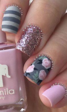 beauty nail art design idea