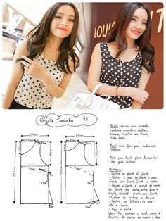 Amazing Sewing Patterns Clone Your Clothes Ideas. Enchanting Sewing Patterns Clone Your Clothes Ideas. Dress Sewing Patterns, Blouse Patterns, Clothing Patterns, Blouse Designs, Sewing Blouses, Sewing Shirts, Make Your Own Clothes, Diy Clothes, Costura Fashion