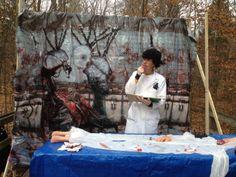 Mad Scientist at Haunted Campsite (2013 Harvest Fest)