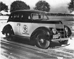 Texas State Hwy. Patrol vehicle, circa 1936.