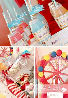 Circus Party Inspiration Board by Bella Bella Studios ~ photo via Lemonade Moments #circus #party
