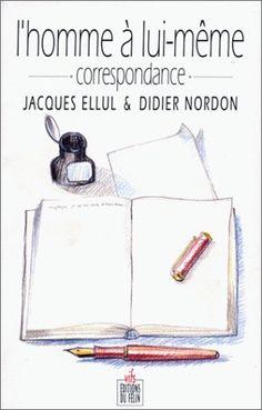 #correspondance #lecture : L'Homme à lui-même. Correspondance de Jacques Ellul.  Il ne croit pas ce que je crois, je ne crois pas ce qu'il croit... Pourtant, l'oeuvre de Jacques Ellul m'a beaucoup marqué. D'où mon souhait de réfléchir avec lui sur la nature de l'influence exercée par un auteur sur ses lecteurs. Y a-t-il une « bonne façon » de lire? Un lecteur trop scrupuleux, perclus de respect, risque de se muer en épigone conformiste et stérile. Un lecteur trop désinvolte, au contraire,...