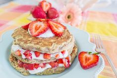 Strawberry Shortcake Pancake