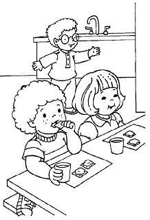Cantinho da Professora Mônica: Volta as Aulas: Desenhos para Colorir