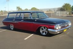 1962 Mercury Station Wagon.